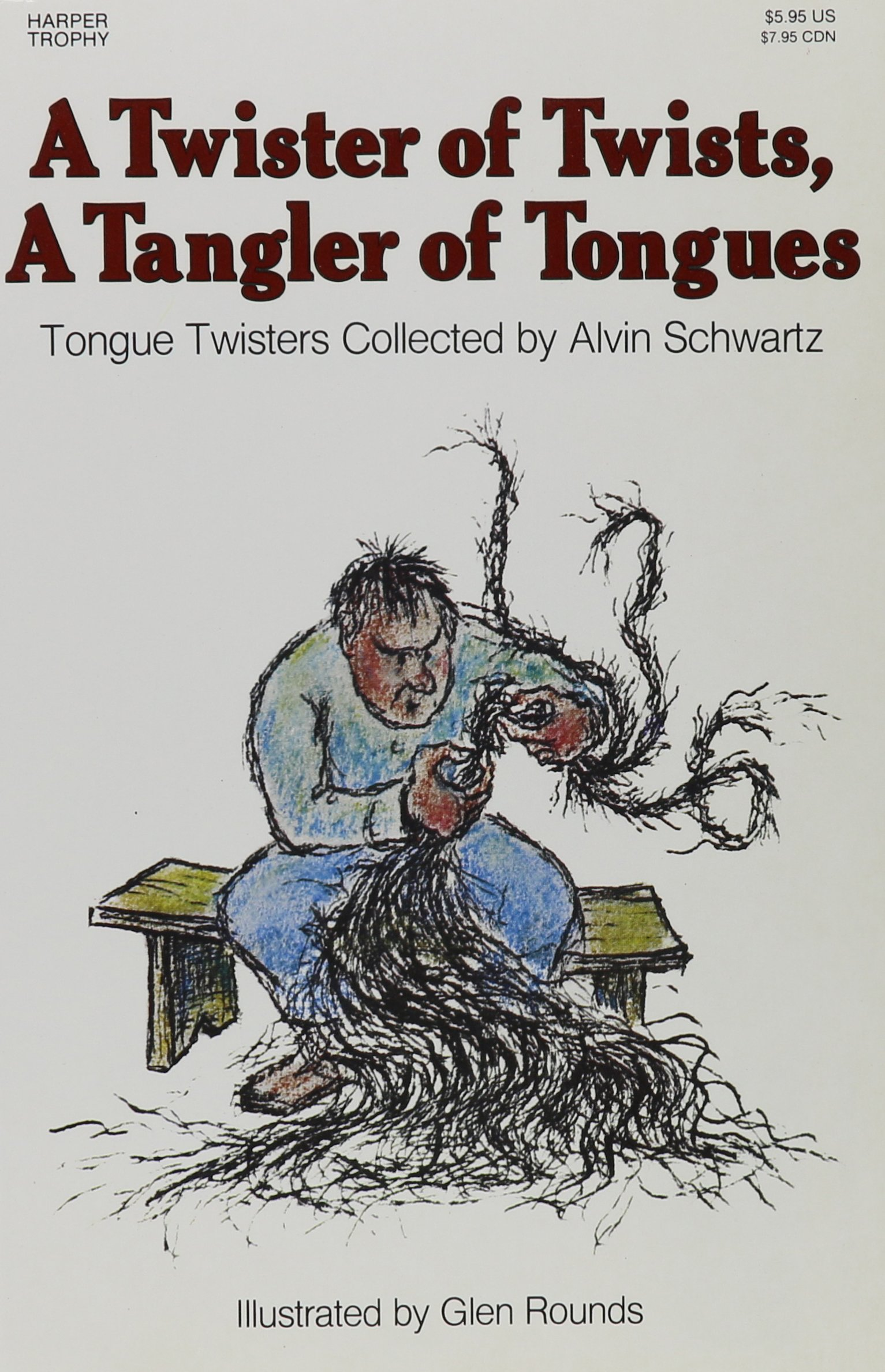 Twister Of Twists A Tangler Of Tongues Trophy Nonfiction