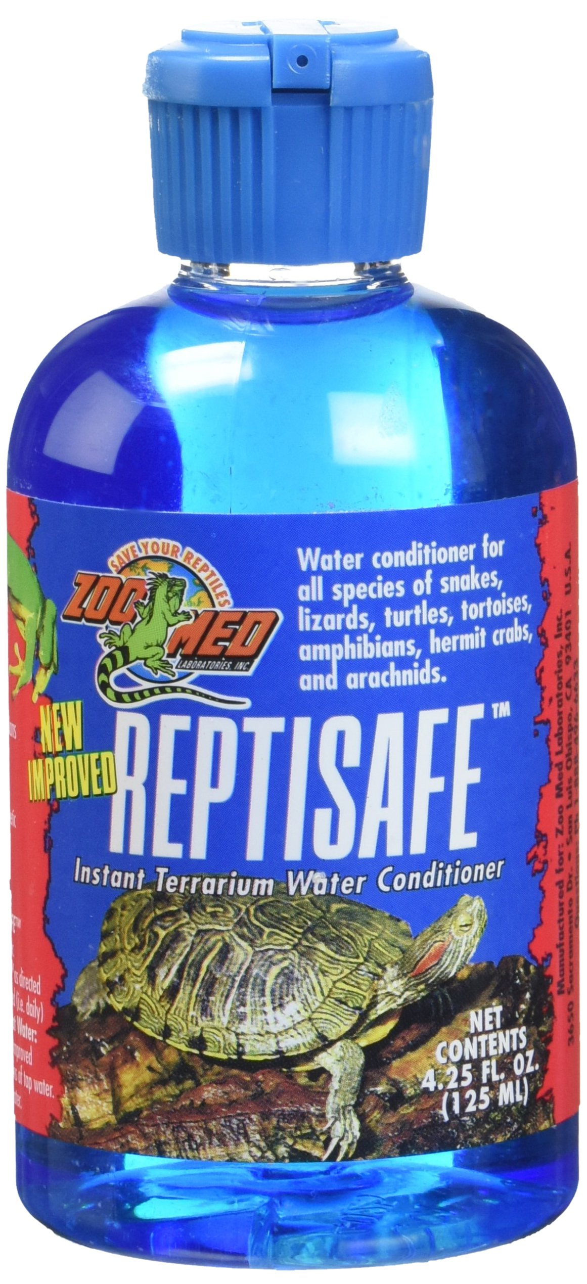 Zoo Med ReptiSafe Water Conditioner for Pets, 4.25-Ounce