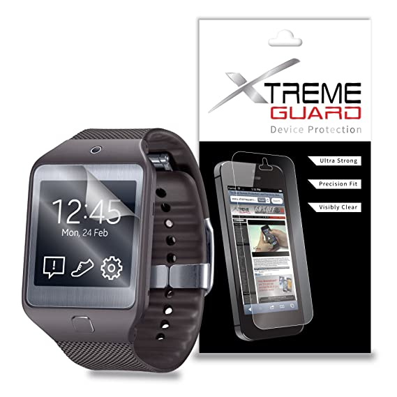 XtremeGuard Screen Protector for Samsung Gear 2 Neo SmartWatch (Ultra Clear)