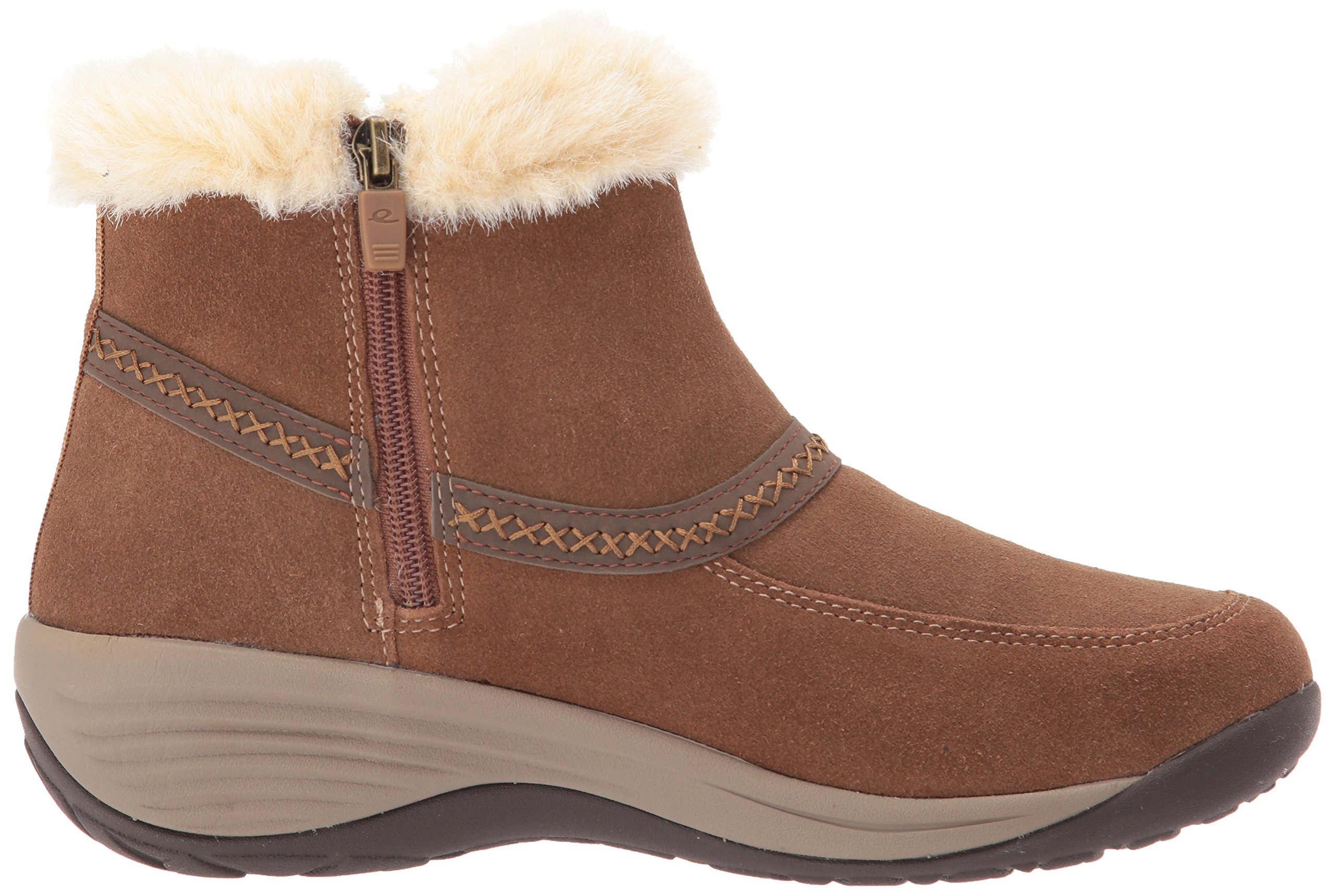 Easy Spirit Women's Icerink Ankle Bootie, Dark Natural Multi Suede, 6 W US by Easy Spirit (Image #7)