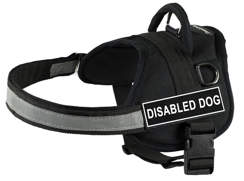 Dean & Tyler 63,5 cm a 86,4 cm Pet Harness, Piccolo, disabili Dog, Nero