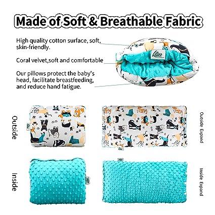 Amazon.com: Almohada de lactancia para lactancia materna ...