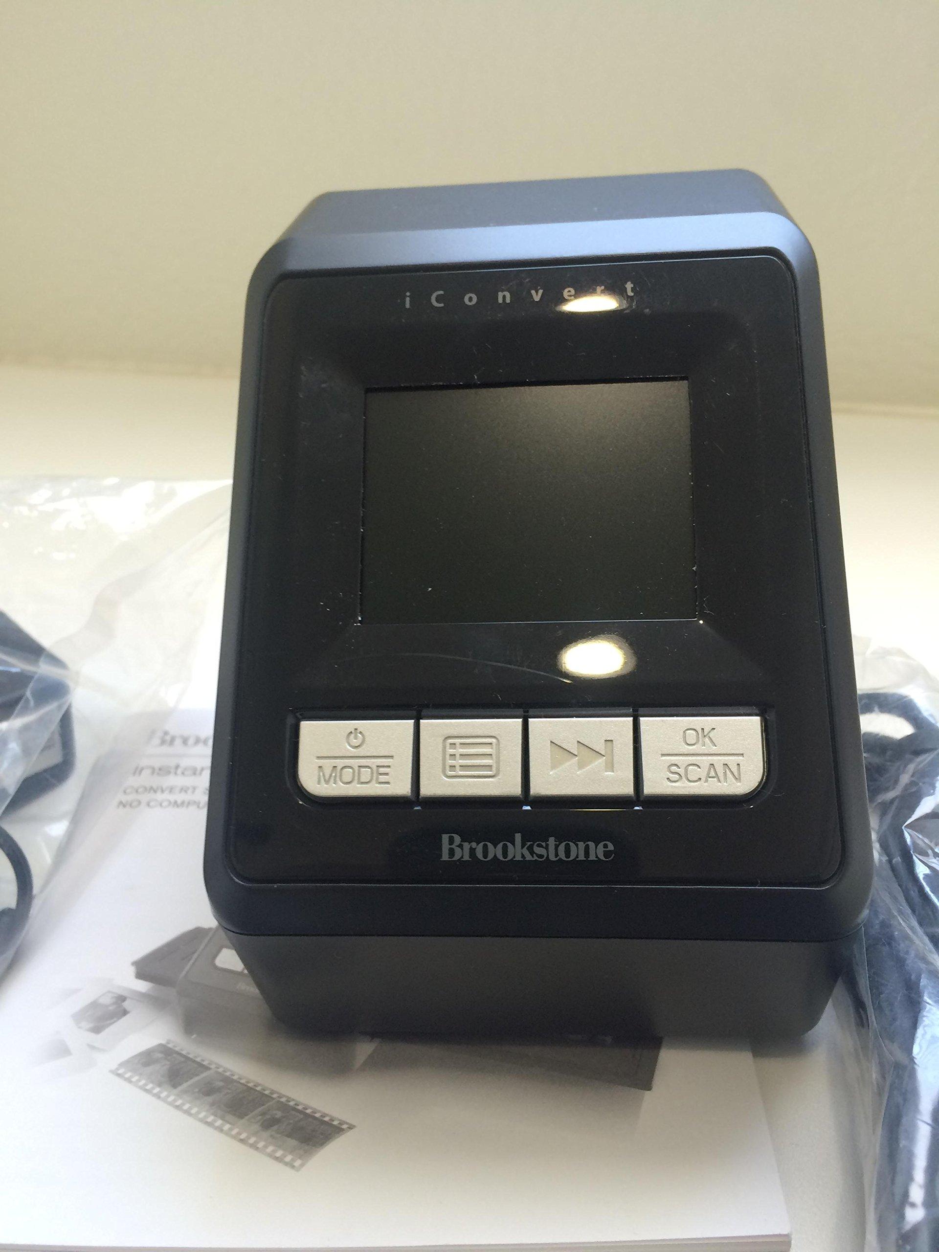 iConvert Instant Slide & Negative Scanner by Brookstone (Image #2)