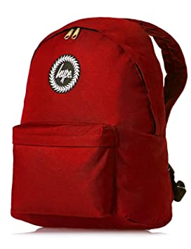 buying cheap so cheap stable quality Hype Backpack Bags Rucksack - School Bag - Plain Red: Amazon.co.uk ...