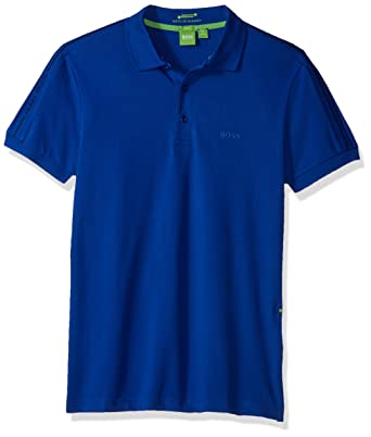 635e6572 Amazon.com: BOSS Green Men's Paule Slim Fit Knitted Pique Polo: Clothing