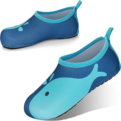 JOTO Swim Shoes Water Socks for Kids