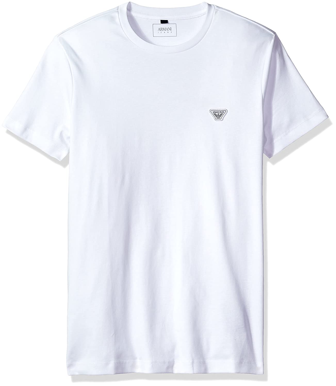 ee786c46 Amazon.com: ARMANI JEANS Men's Plus Size Cotton Jersey Small Eagle Logo  Tshirt: Clothing