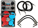 Keeley Bubbletron Dynamic Phaser Flanger Pedal w/ 4 Cables