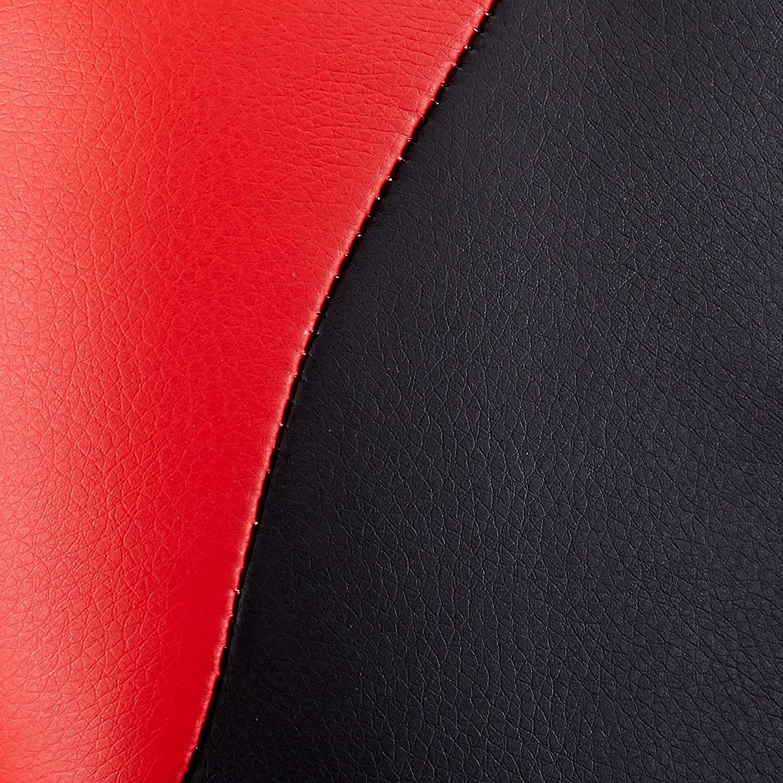 Homy Casa HM ven EMINEM MATT Homycasa Home Office Decorations Furniture Ergonomic Computer Seat Faux Leather Office Racing Desk Chair RED 2