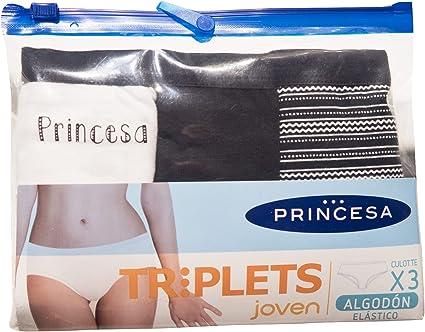 Braguitas Princesa Triplets Joven y Mujer Pack de 3 Bikinis (L ...