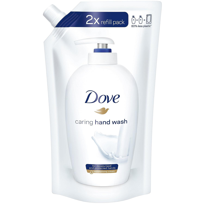 Dove Seife Pflegende Hand-Waschlotion Nachfüllbeutel, 10 x 500 ml 4000388179011