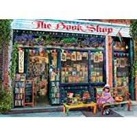 Ravensburger The Bookshop Puzzle 1000 Piece Jigsaw Puzzle Adults – Every Piece is Unique, Softclick Technology Means Pieces Fit Together Perfectly