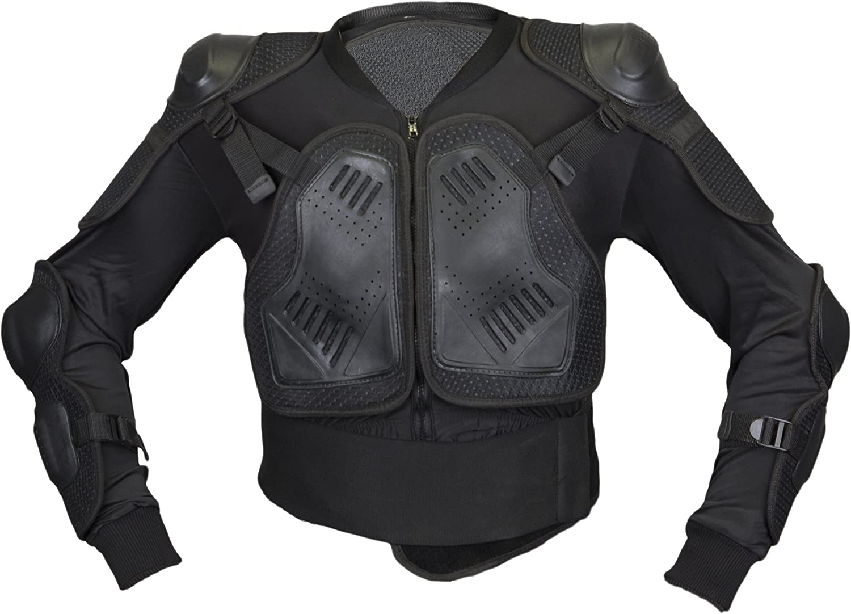 Chemise Veste de protection Plastron VTT noir