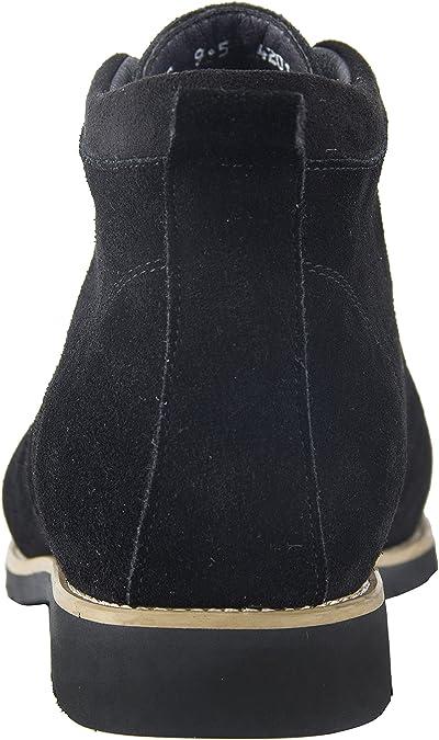iloveSIA Chukka Chaussures Montante à Lacets en Daim pour Homme Taille 38 49