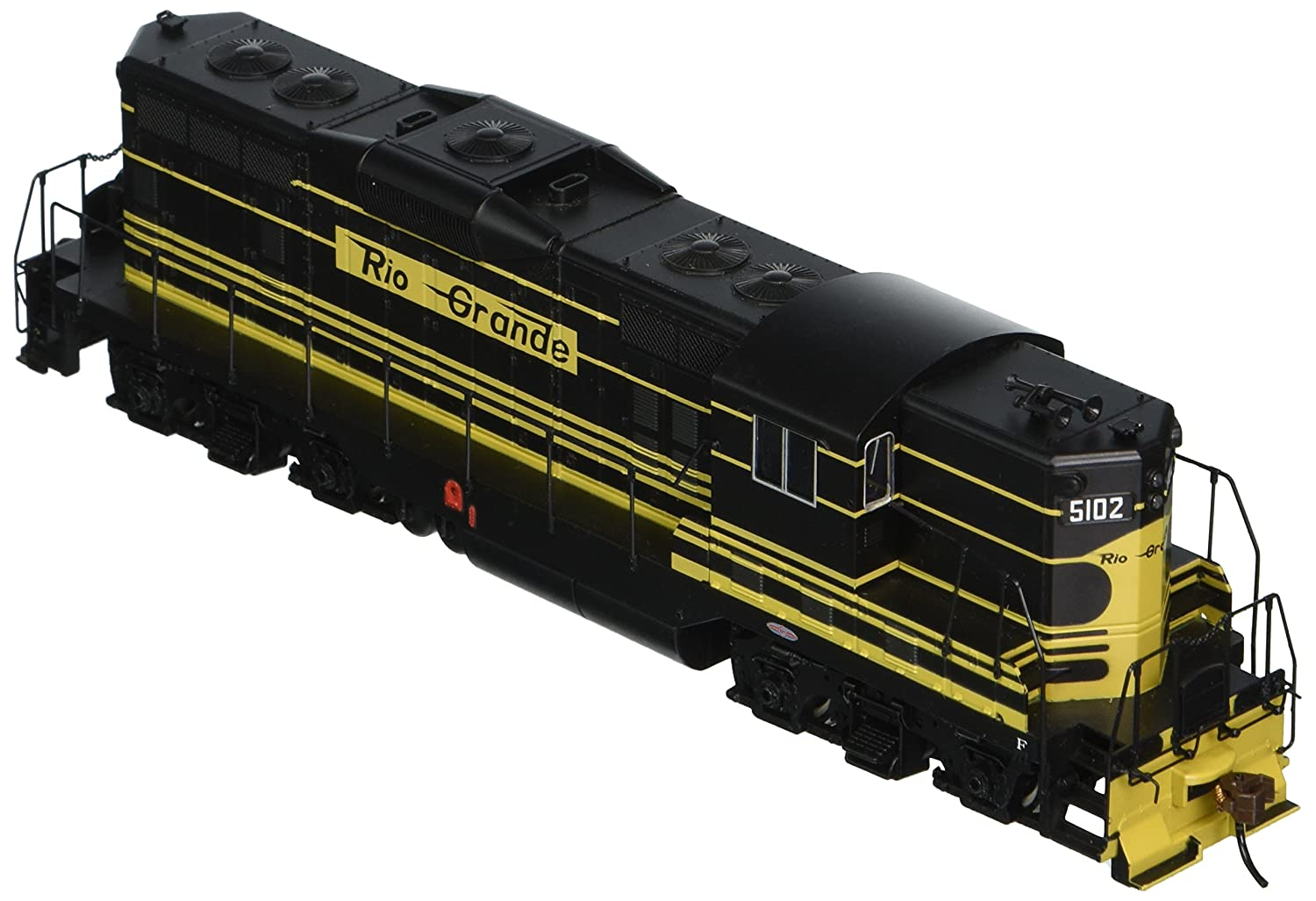 Bachmann Rio Grande 5102 ho scale Emd GP7 locomotive – DCC on Board