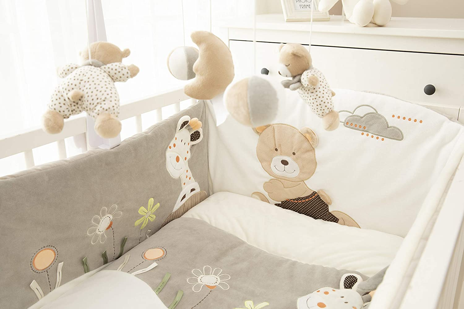 Moon/&Star Mini Dream Music Mobile for Baby Cot Suitable from Birth