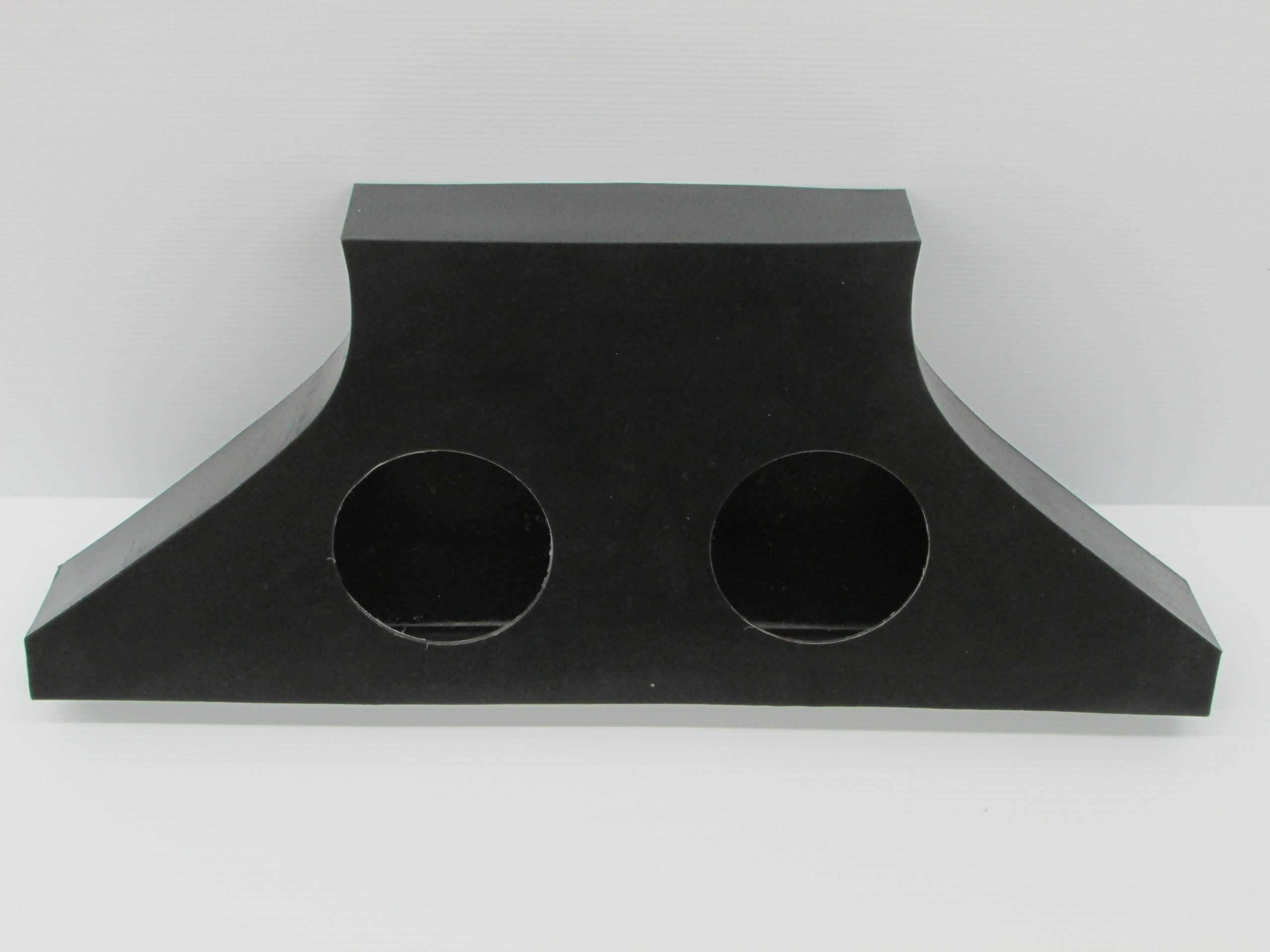 SD 2R2E -Polaris RZR Rear Empty Stereo Box by Galena
