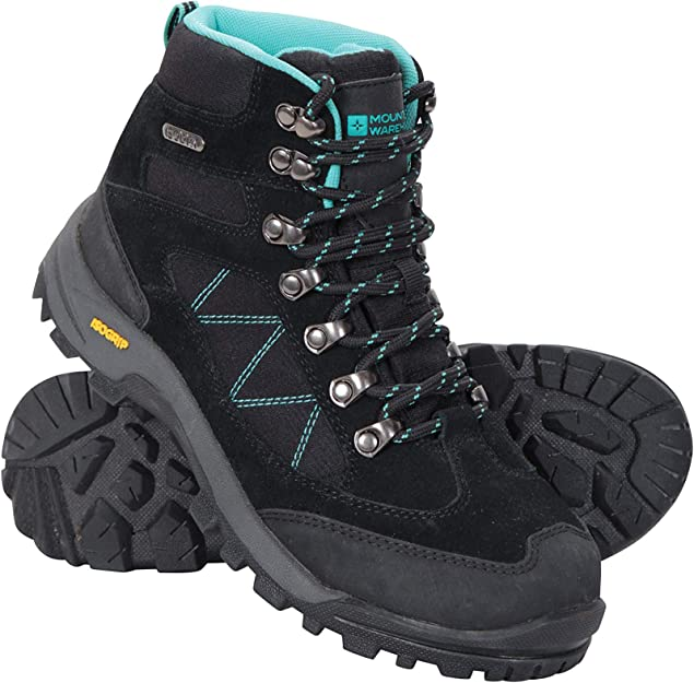 Mountain Warehouse Womens Shoes with Suede and Mesh Upper and IsoDry Membrane
