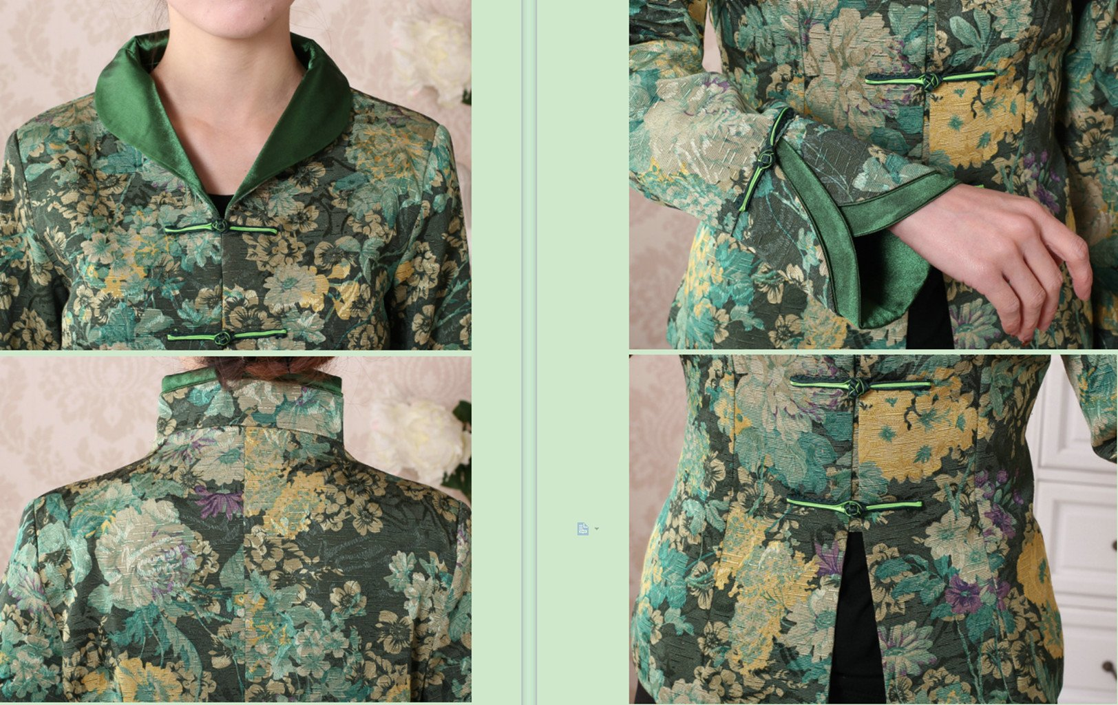 Womens Tang Suits Chinese Style Coats Retro Jackets Full Dress Formal Dress Womens Jackets Business Jackets by Womens Tang Suit (Image #6)