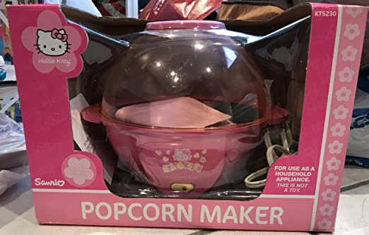 NEW HELLO KITTY Electric Air Popcorn Maker CUTE SANRIO