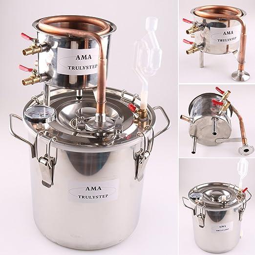 15 opinioni per FayeLong Nuovo DIY CASA Alambicco Distillatore Distillazione Temperatura