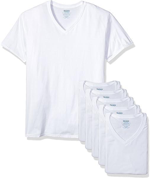 Gildan Platinum Mens 5-Pack Crew Neck T-Shirt