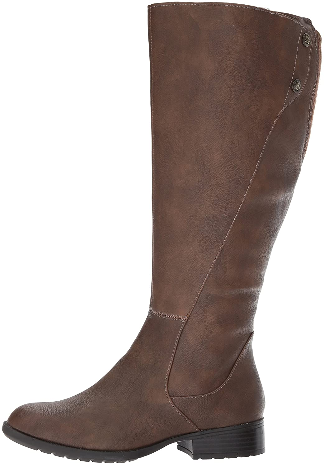 LifeStride Women's Xripley-Wc Riding Boot B071WVHVBD 6 W US|Dark Tan