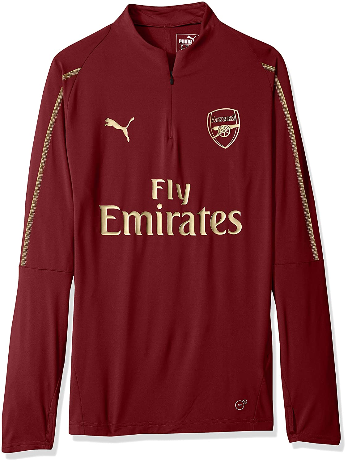 d7c4d384a18 PUMA Men s Arsenal Fc 1 4 Top with Zipped Pocket at Amazon Men s Clothing  store
