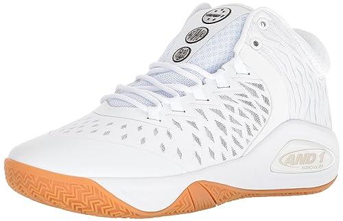 4dcd2ed5863 AND1 Mens Attack Mid Basketball Shoe  Amazon.ca  Shoes   Handbags