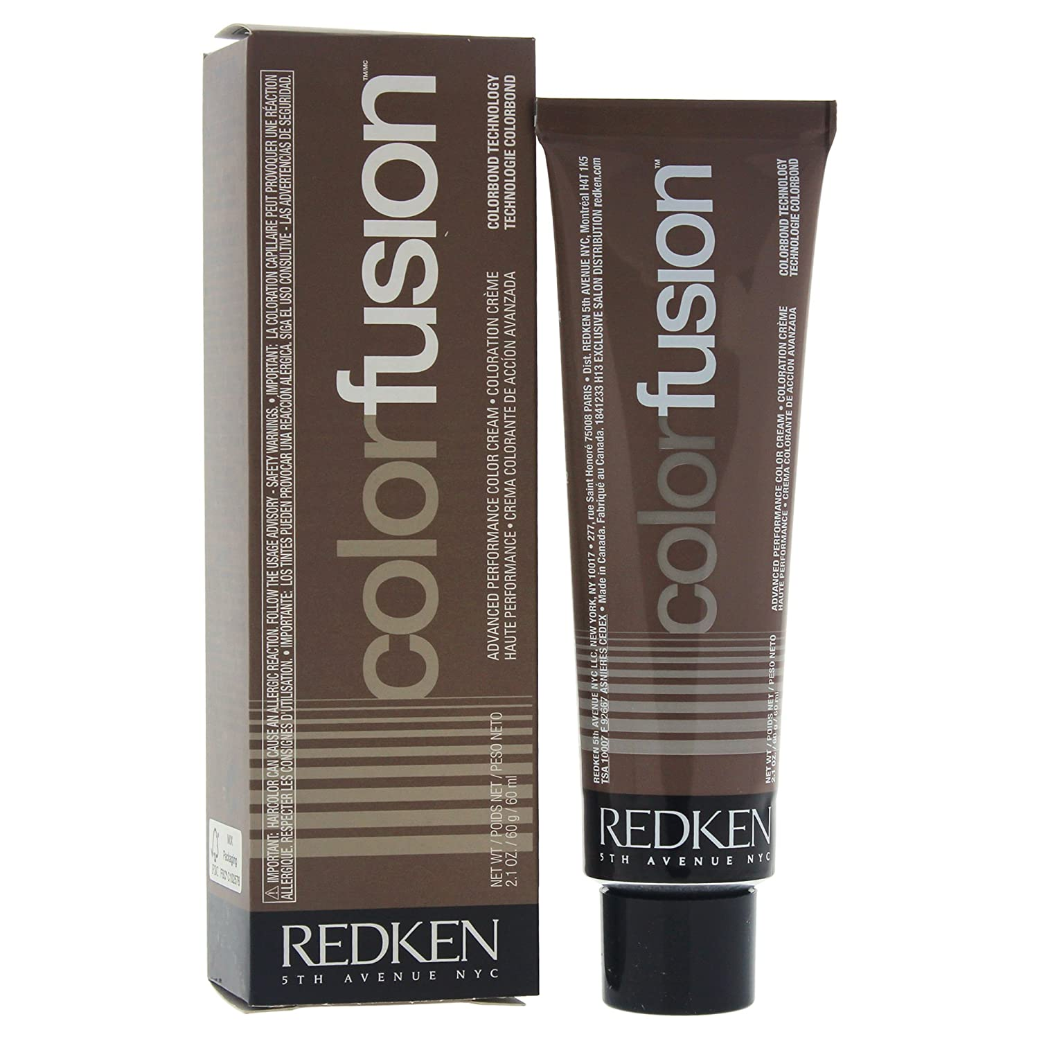 Redken Color Fusion Cream Natural Balance Hair Color for Unisex, No.9AGAsh/green, 2.1 Ounce