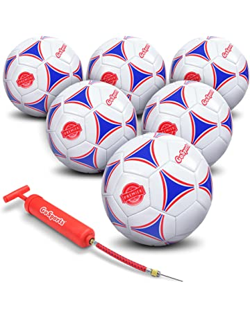 GoSports Premier Soccer Ball with Premium Pump - Available as Single Balls  or 6 Packs - cb6e32baf7