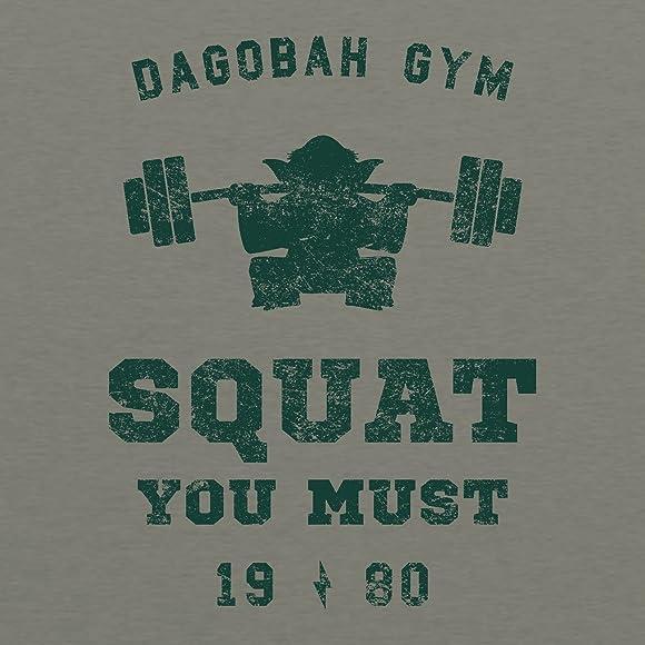 b75446b83 UGP Campus Apparel Squat You Must - Workout Gym Jedi Space Galaxy T Shirt