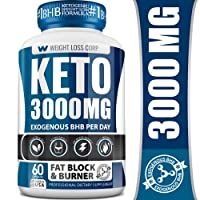 Keto Diet Pills - 3000MG - Exogenous BHB - Made in USA - Professional Certified...