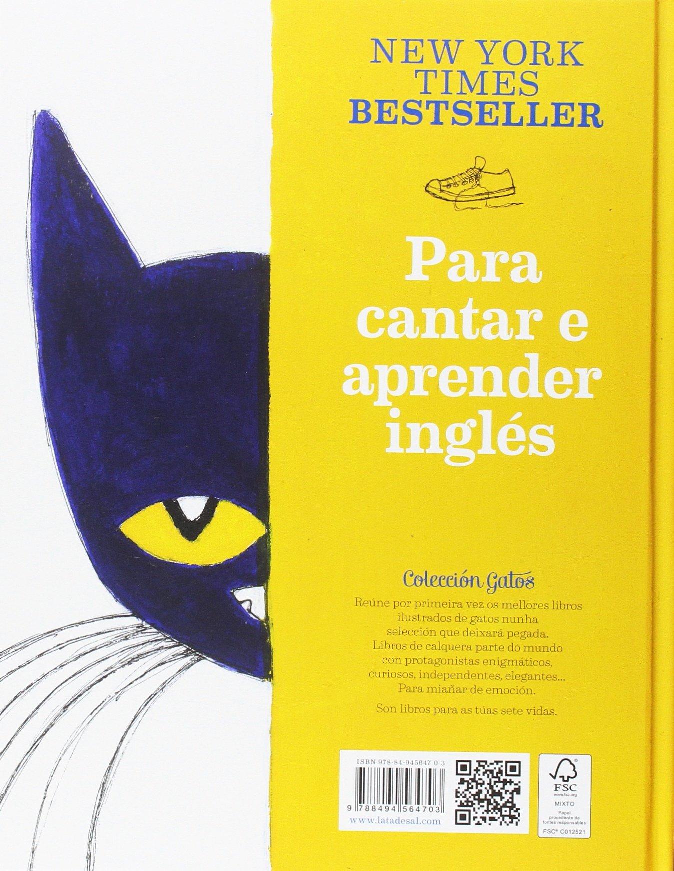 Pete, o gato: I love my white shoes: Eric Litwin: 9788494564703: Amazon.com: Books