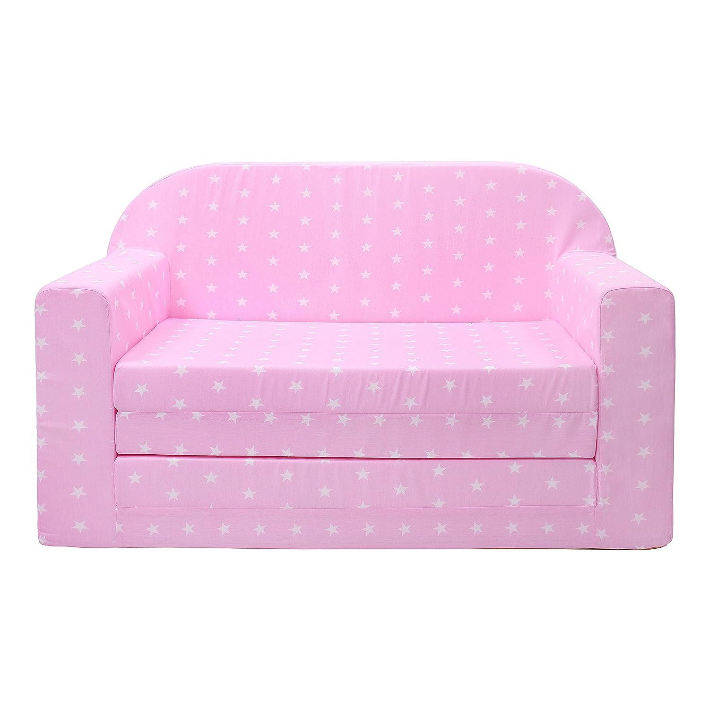 M00005512 Pour dormir et jouer Fonction lit Lulando Classic Canapé//fauteuil pour enfant Motif petites étoiles MOLEO Sp.z o.o