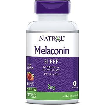 reliable Natrol Melatonin 3mg Fast Dissolve Tablets