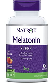 Natrol Melatonin 3mg Fast Dissolve Tablets, 150 Count