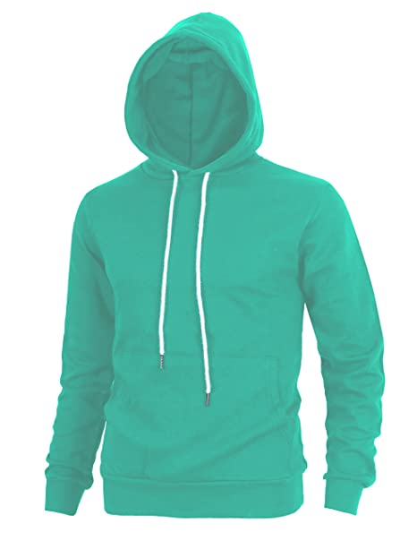 e292532d9 Lite Delights Men's Fashion Fit Hoodie Pullover with Kanga Pocket (Small,  Apua)