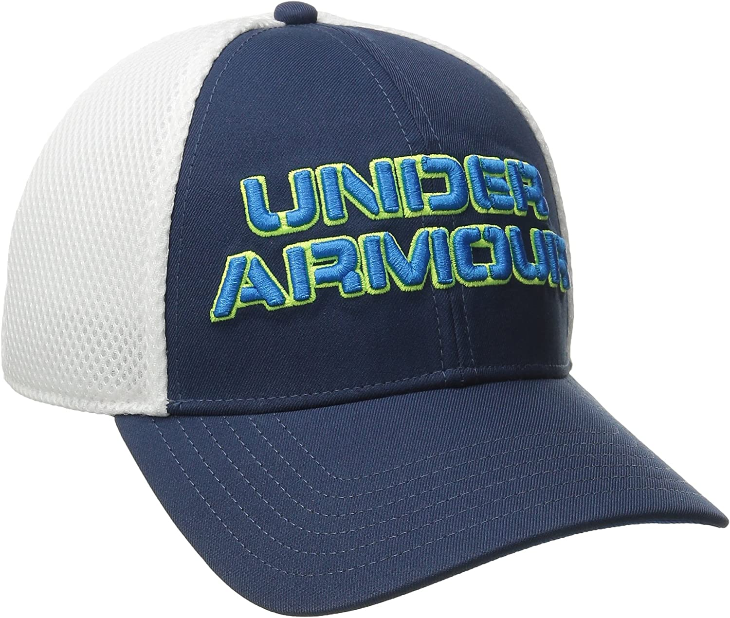 Under Armour Mens Training Mesh Stretch Fit Cap