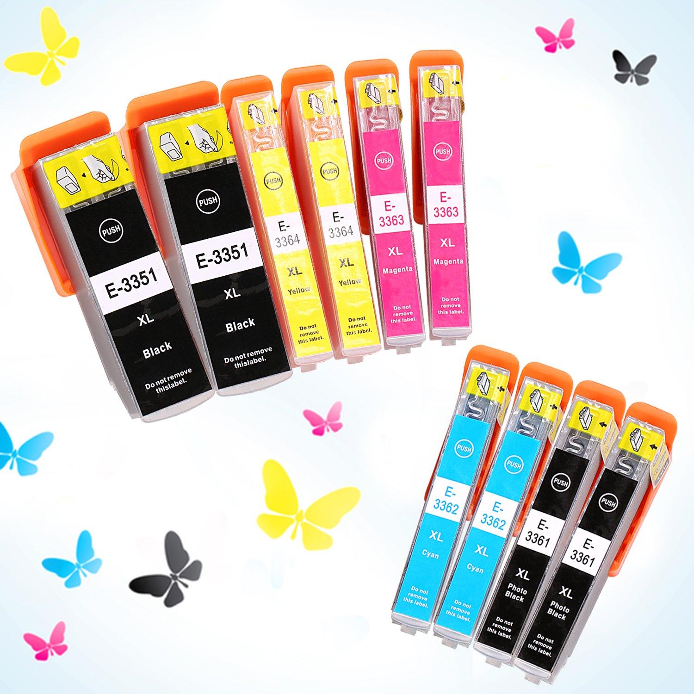 Azprint Pack de 10 Cartuchos de tinta Compatible Epson 33XL 33 XL ...