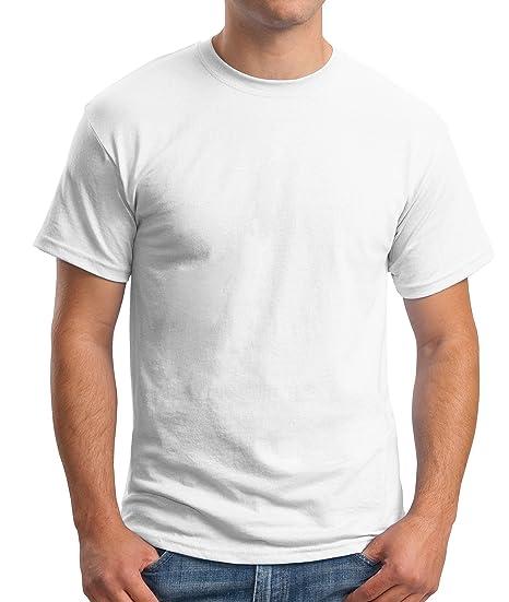 f4945ee72760f Hanes Mens 6.1 Oz. Tagless T-Shirt(5250)-White-XL