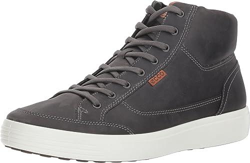 ECCO Men's Soft VII High-Top Sneaker