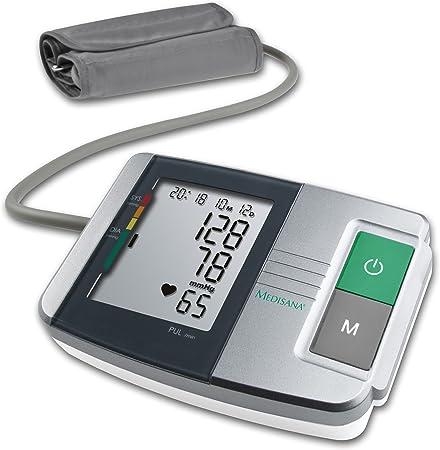 Medisana MTS Tensiómetro para el brazo, pantalla de arritmia ...