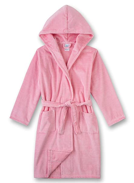 Sanetta Bathrobe, Bata para Niñas, Rojo (Coral Light 3937.0) 92 cm