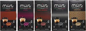 MUST Espresso Nespresso Compatible Coffee Capsules Italiano 100 Variety Pack