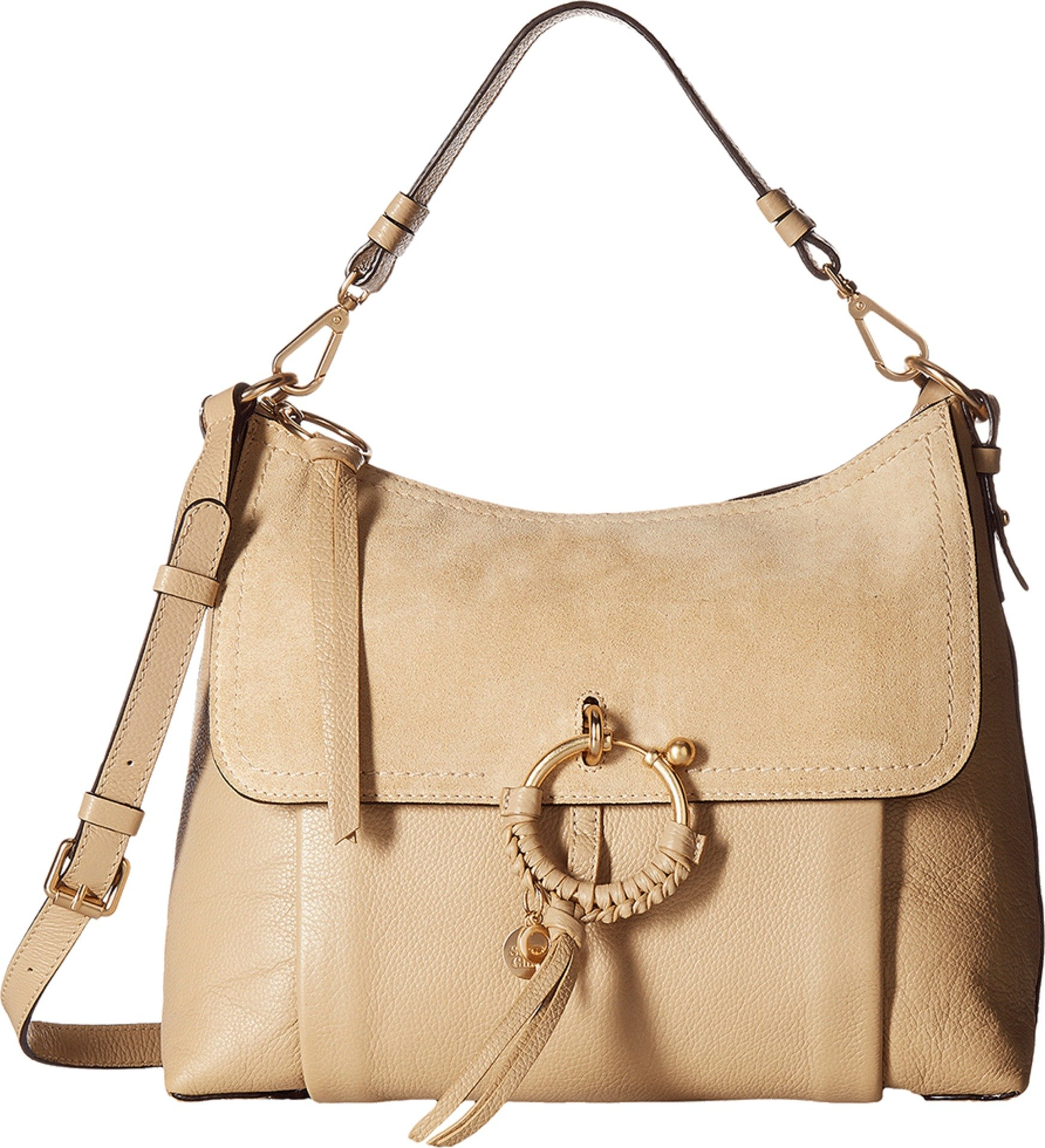 See by Chloe Women's Joan Medium Shoulder Bag Pearl Beige One Size