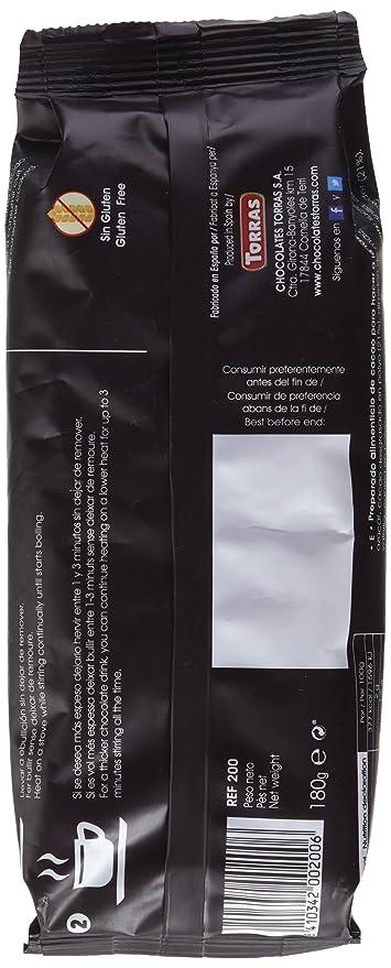 Torras Preparado para Chocolate a la Taza - 189 gr: Amazon.es: Amazon Pantry