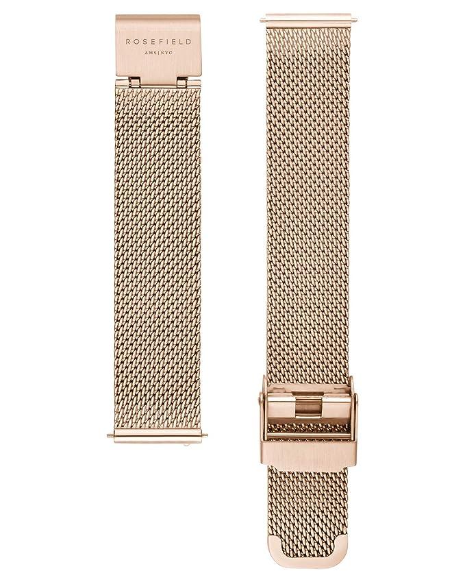 Rosefield Reloj Analógico para Mujer de Cuarzo con Correa en Metal TBR-T59: Amazon.es: Relojes
