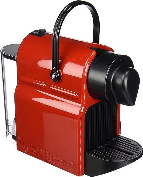 Nespresso Inissia Espresso Maker, Rojo Nespresso Espresso Machine ...