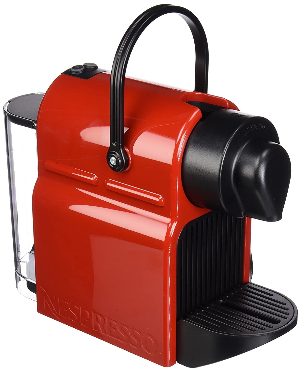 Nespresso Inissia Espresso Maker, Red (Discontinued Model)